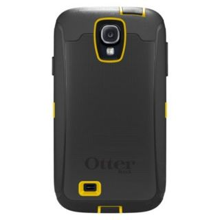 Otterbox Defender Cell Phone Case for Samsung Galaxy S4   Black/Yellow (OB