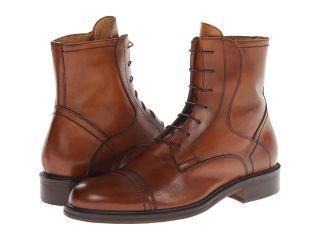 Massimo Matteo 6 Eye Cap Boot Mens Shoes (Tan)