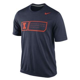 Nike Legend Training Day (Illinois) Mens T Shirt   Navy