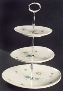 Franciscan Starburst 3 Tiered Serving Tray (DP SP BB) Fine China Dinnerware & Franciscan Starburst 3 Tiered Serving Tray (DP SP BB) Fine China ...