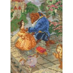 Disney Dreams Collection By Thomas Kinkade Beauty and Beast 5x7 16 Count