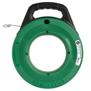 Greenlee FTS438125 MagnumPro 1/8 Steel Fish Tape with Case 125 Feet