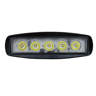 15W Spot/Flood LED Off Road Slim Work Light Lamp 12V/24V Car Truck 4WD SUV
