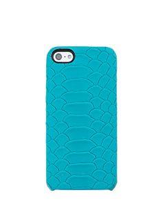 GiGi New York Python Embossed Leather iPhone 5 Case