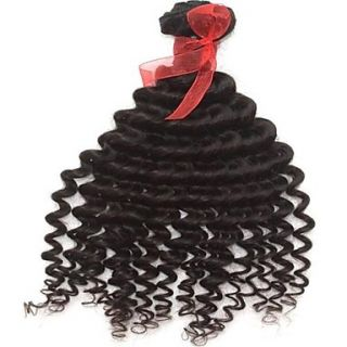 Mixed Lengths 26 28 30 Inch Double D rawn Indian Deep Wave Weft 100% Unprocessed Remy Human Hair Extensions