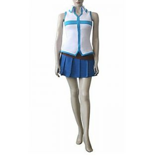 Cosplay Costume Inspired by Fairy Tail Lucy Heartfilia