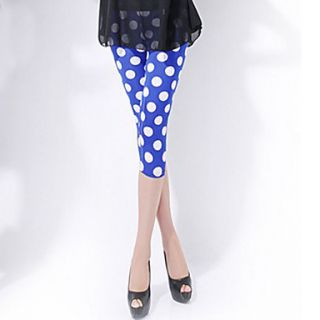 Polka Dots Short Slim Leggings