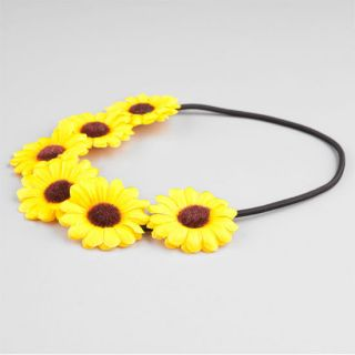 Daisy Flower Crown Yellow One Size For Women 240721600