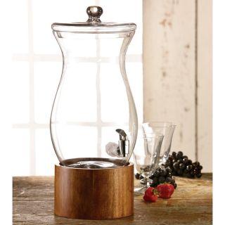 Madera Glass Beverage Dispenser Multicolor   210768 GB, 3 Gallon
