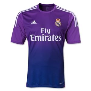 adidas Real Madrid 13/14 Home Goalkeeper Soccer Jersey